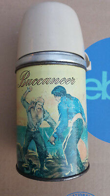 Vintage Aladdin Industries 1957 Buccaneer Lunchbox Thermos