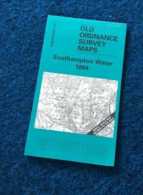 Old Ordance Survey OS maps - Southampton Water 1884