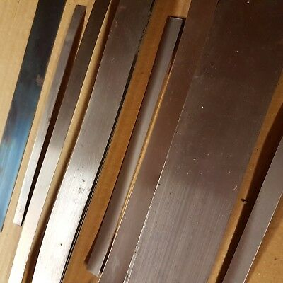 """Cs 70 Annealed Spring Steel Strip (From 3.2Mm - 25 Mm 1/8"""" - 1"""")  200 Mm Lengths"""