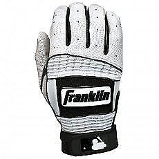 Franklin Neo Classic II Batting Gloves - Pearl/Black - Youth Large