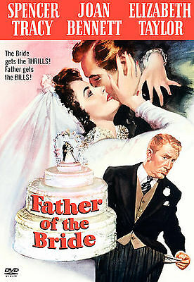 FATHER OF THE BRIDE New DVD 1950  Spencer Tracy Elizabeth Taylor