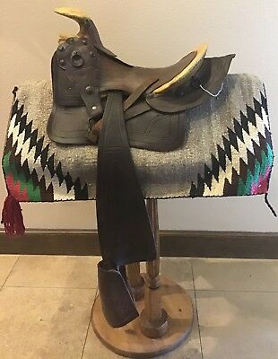 Antique Early 1870's Texas Hope Saddle in good condition
