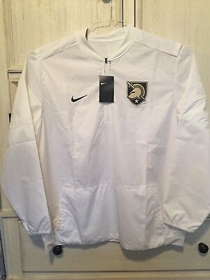 Nike West Point Army Dri Fit 1 4 Zip Pullover Windbreaker White Mens Size  XXL 6999468f5