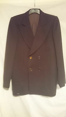 Boss Creation Paris Hugo Boss Men's Vintage Jacket in Chocolate 100% Wool