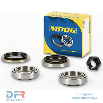 1 SET CUSCINETTO RUOTA MOOG re-wb-11476 RENAULT DACIA assale anteriore
