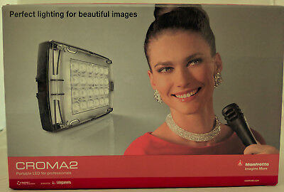 NEW Manfrotto Croma2 LED Light