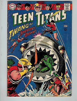 Teen Titans #11 (Sep-Oct 1967, DC)! VG4.0+! Silver age DC! CHECK IT OUT!