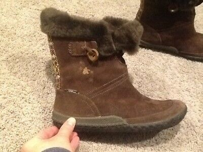 Womens Cushe Brown Slip On Size 8 Boots