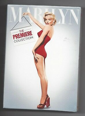 Marilyn The Premier Collection 17 Movie Box Set Brand New Factory Sealed Dvd's