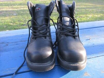 Iron Age Men's Steel Toe Work Boots Size 11W *new*