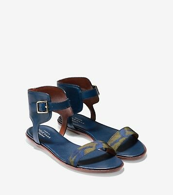 f566550c8a13 COLE HAAN BARRA Sandal in Blue Size 8.5 -  24.99