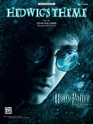 """Hedwig's Theme"" HARRY POTTER-EASY Piano SHEET MUSIC-BRAND NEW ON SALE!!"