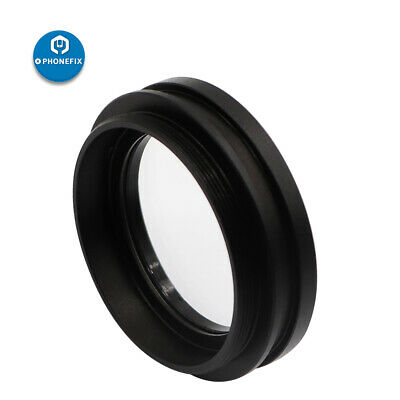 M48*0.75 1X Auxiliary Objective Lens for Stereo Microscope Prevent Oil Splashing
