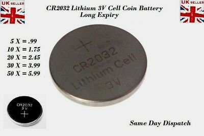 10x CR2032-BR2032-DL2032-Branded-3V-LITHIUM-Coin-Cell-Button-Batteries