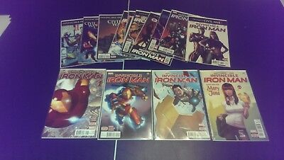 invincible iron man #1-14 in great condition.