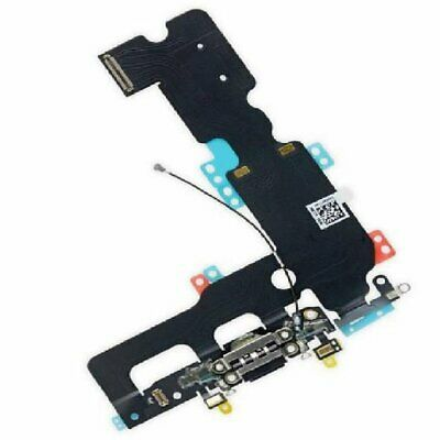 """iPhone 7 Plus 5.5"""" Dark Grey USB Charging Port Dock Connector And Mic Flex Cable"""
