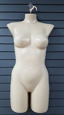 Female Torso Front L-XL Bodyforms with Hanging Hook