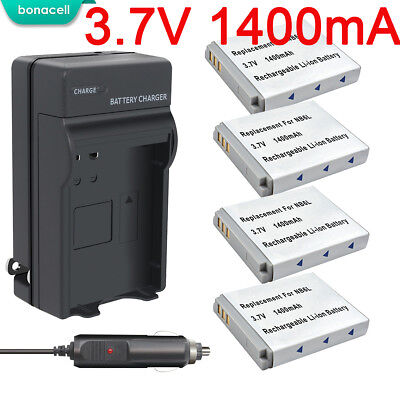 NB-6L NB-6LH Battery+Charger For Canon IXUS 85 95 IS SX275  PowerShot D10 S90 EG