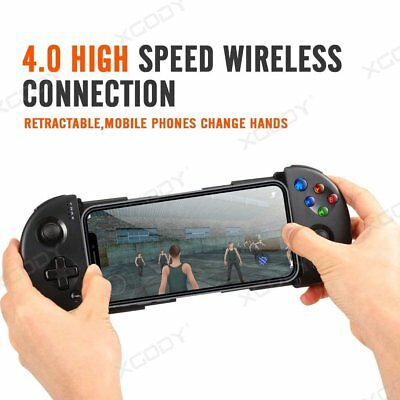 Pro Wireless Bluetooth Game Controller Retractable Joystick Gamepad for Android