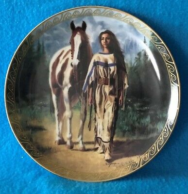 Path to Serenity Collectible Plate Daughters of the Wind # 2