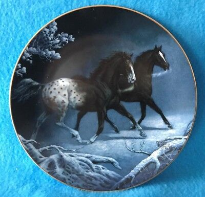 Midnight Run Collectible Plate Unbridled Spirit Collection