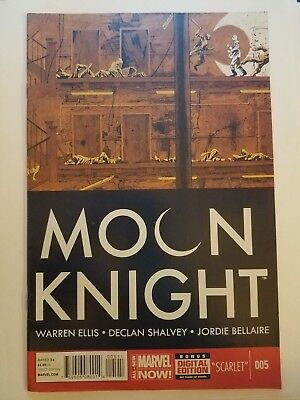 Moon Knight #005 Marvel Now First Print NM/NM+ Ellis Having a Baby $1 Comic Sale