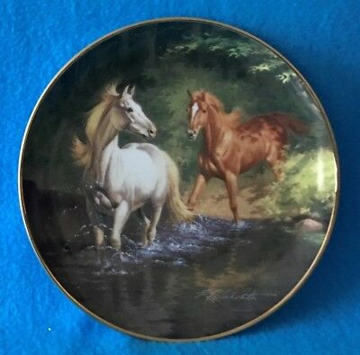 Free as the Wind Collectible Plate