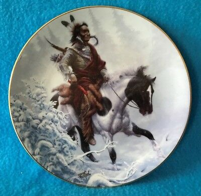 Winter Hunter Collectible Plate The Prideful Ones Collection