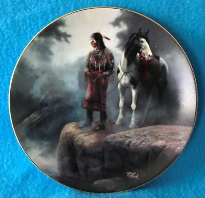 Appeasing the Water People Collectible Plate from the Prideful Ones