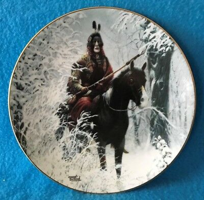 Tribal Guardian Collectible Plate from The Prideful Ones Collection