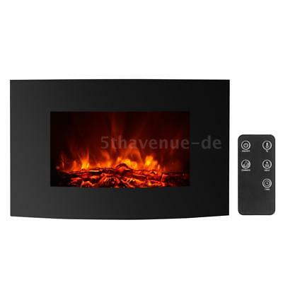 elektrischer kamin elektrokamin kaminofen heizung ofen heizl fter wei led deko eur 149 00. Black Bedroom Furniture Sets. Home Design Ideas
