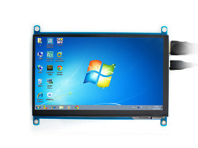 7inch HDMI LCD (H) 1024x600 IPS supports various systems capacitive touch Screen