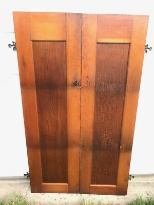 Vintage Cabinet Doors With Orginial Hardware