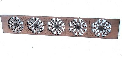 Vintage Fretwork Header Pediment Entryway