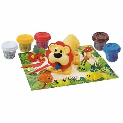 Playgo Jungle Animal Press Children Kids Play Dough Art Artistic Toy 8646