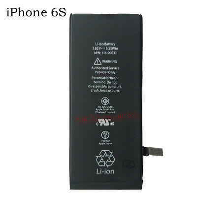 """For Apple iPhone 6S 4.7"""" New Replacement Li-ion Battery 616-00036 1715mAh"""