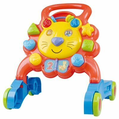Playgo Little Lion Activity Walker Baby Toddler First Step Bouncer Toy 2254