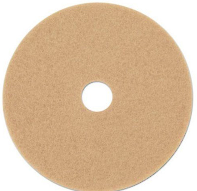 "3M Tan 20"" Burnishing Floor Pads 3400, 5 Pads (MCO 05606)"