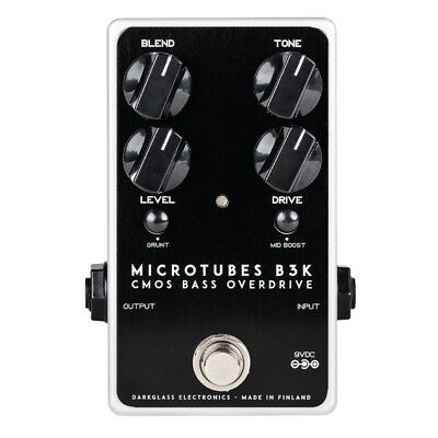 Darkglass Electronics Microtubes B3K V2 Bass Preamp Overdrive Effects Pedal