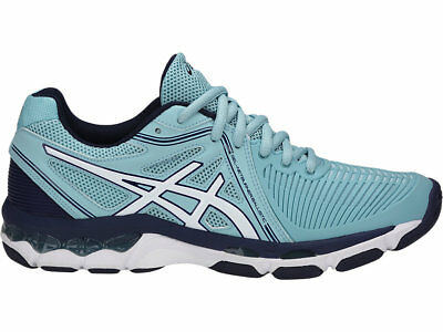 SAVE $$$ Asics Gel Netburner Ballistic Womens Netball Shoes (B) (1401)