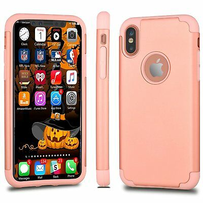 """Heavy Shockproof Hybrid Matte Resistant Rugged Case For Apple iPhone X XS 5.8"""""""