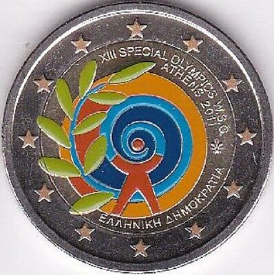 2011 Griechenland - 2 Euro - Special Olympics - Coloriert - ST - 50000 Exemplare