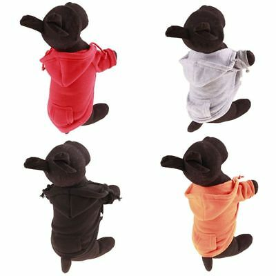 XS-XXL Pet Dog Warm Cotton Hoodies Coats Autumn&Winter Small Medium Large Dog US
