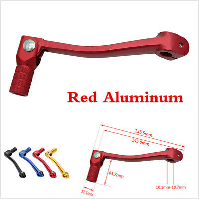 Red CNC Aluminum Folding Gear Shift Lever Gear Shift Lever For Motorcycle ATV