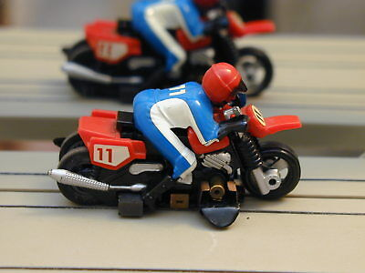 Dirt Bike Motorcycle Track Tested Fast Tyco Slot Car Lot Aurora Afx