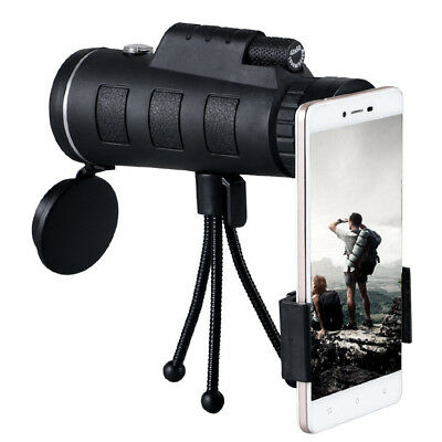 Day Night Vision 40x60 HD Optical Monocular Hunting Camping Telescope Tool