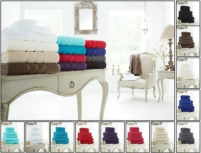 100% Cotton 600 Gsm Zero Twist Super Soft Hotel Quality Hand Bath Face Towels