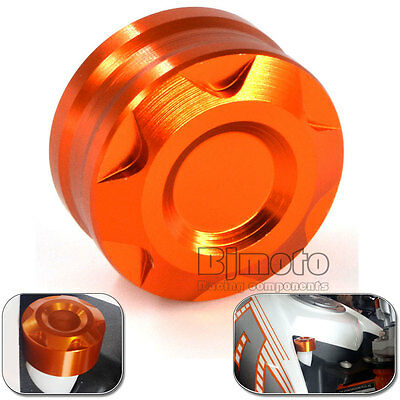 Motorcycle CNC Radiator Water Pipe Cap Cover for KTM DUKE 125/200/390 Orange 018
