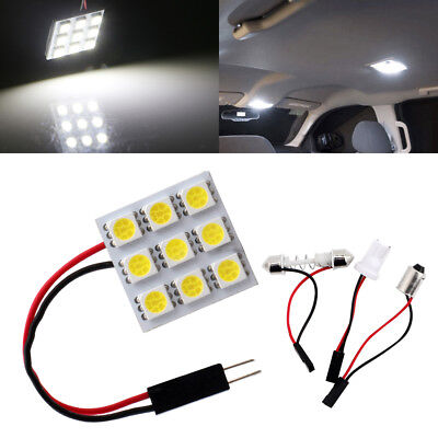 10* GreenT10 5050 1-SMD 1895//BA9S//T4W Canbus Interior Dome Map LED Light Bulbs