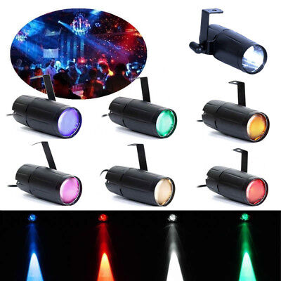 U`king Stage Light Single Color Mini LED Beam DJ Disco Bar Xmas Party Pin Spot